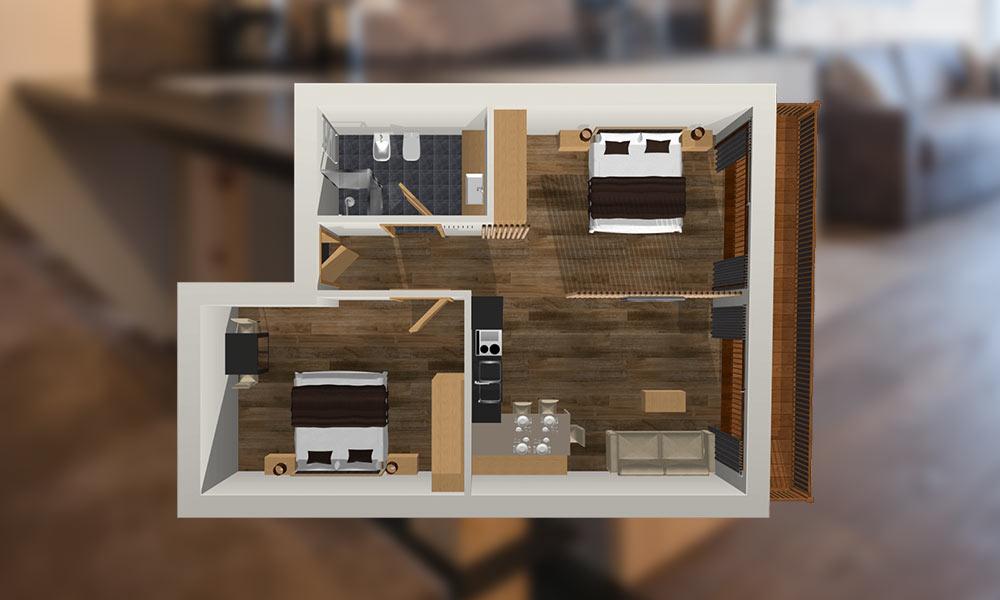 Appartement-Brimella