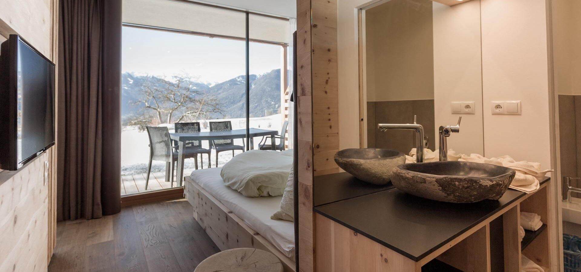 komfortable und moderne Luxusferienwohnung Südtirol