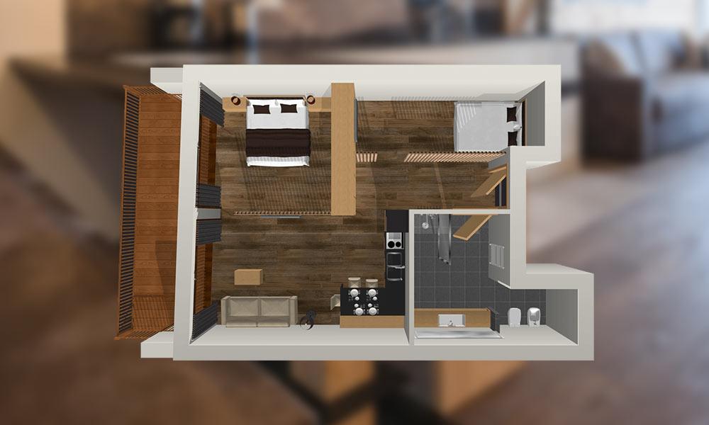 Appartement-Lieselotte