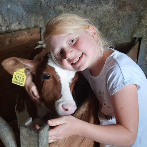 Kinderurlaub auf dem Bauernhof mit Tieren